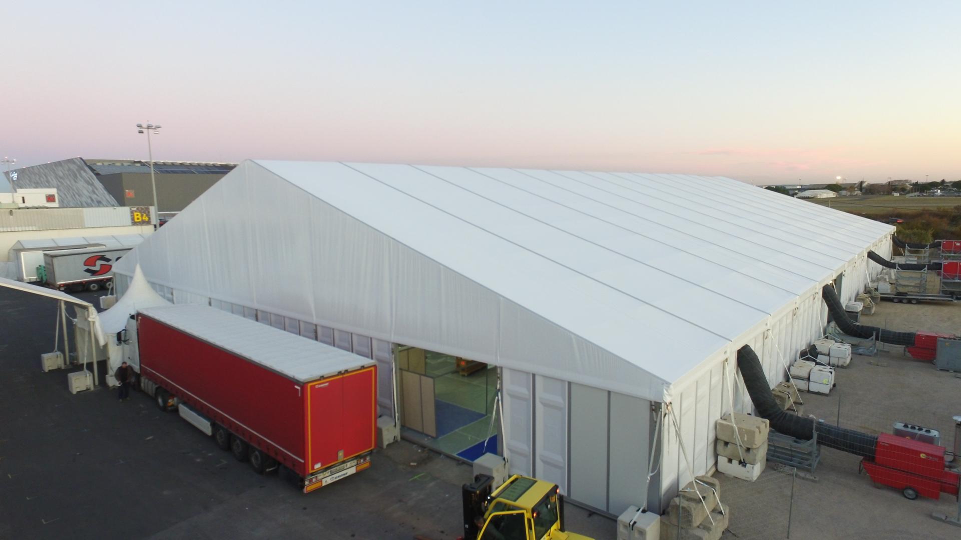 SML - Bi-pentes portee 40m H4m