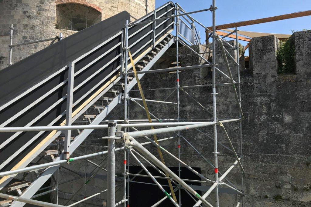 SML - escalier modula conforme ERP