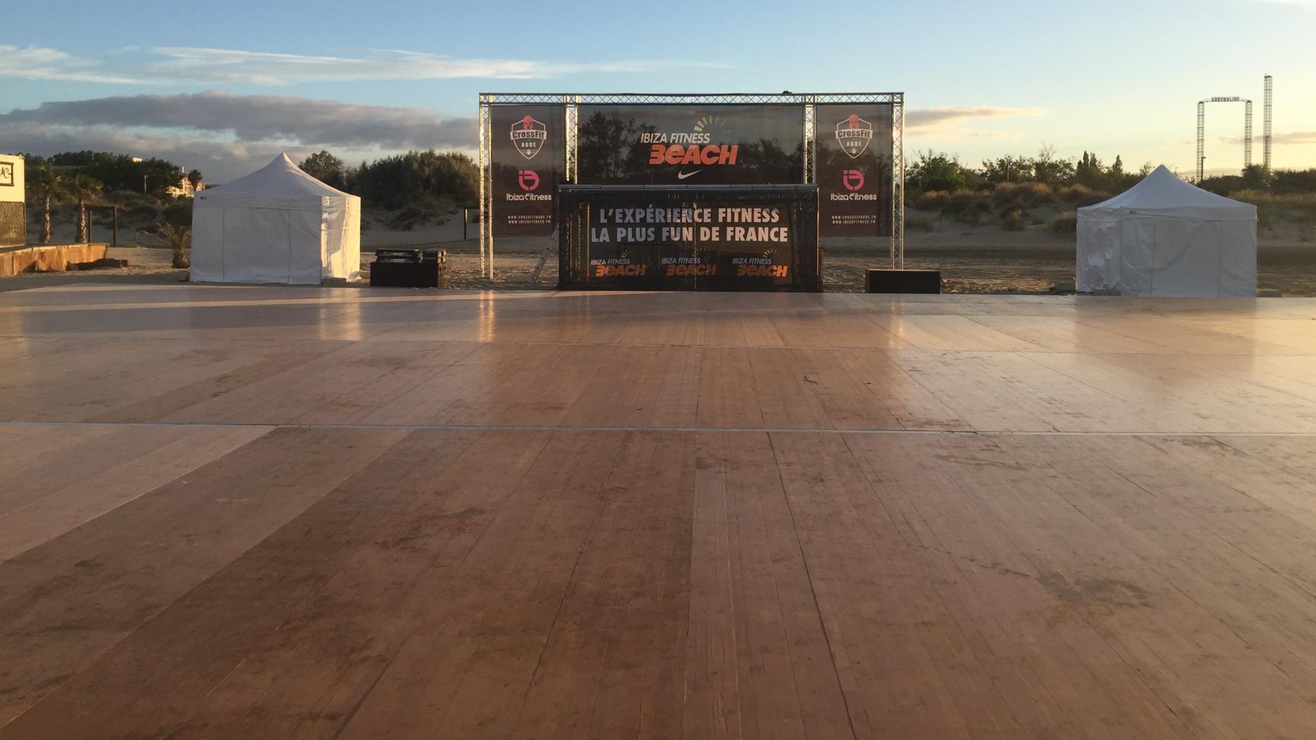 SML - plancher pour evenements sportifs