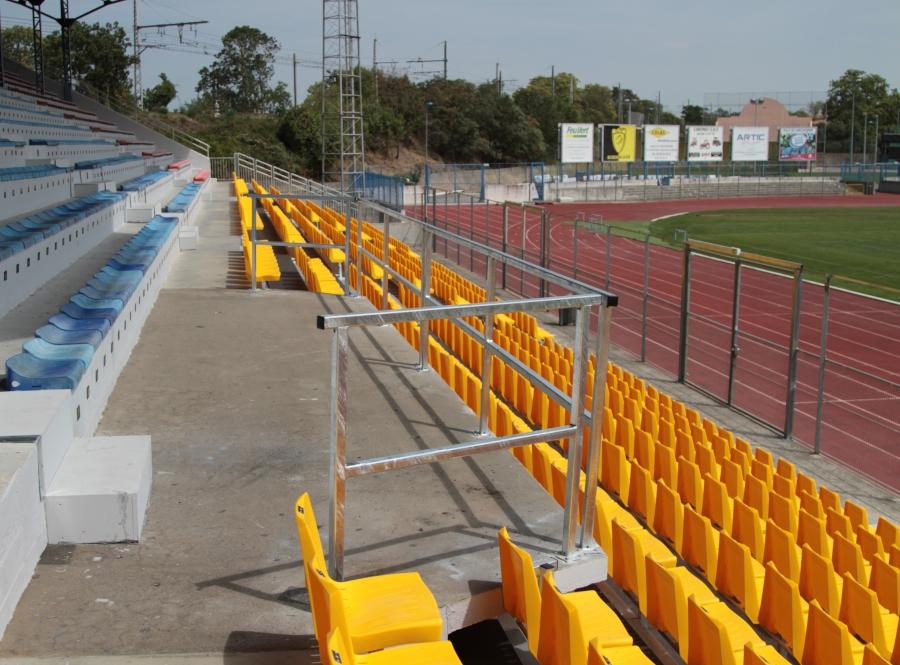 SML - aggrandissement de tribune stade complexe sportif