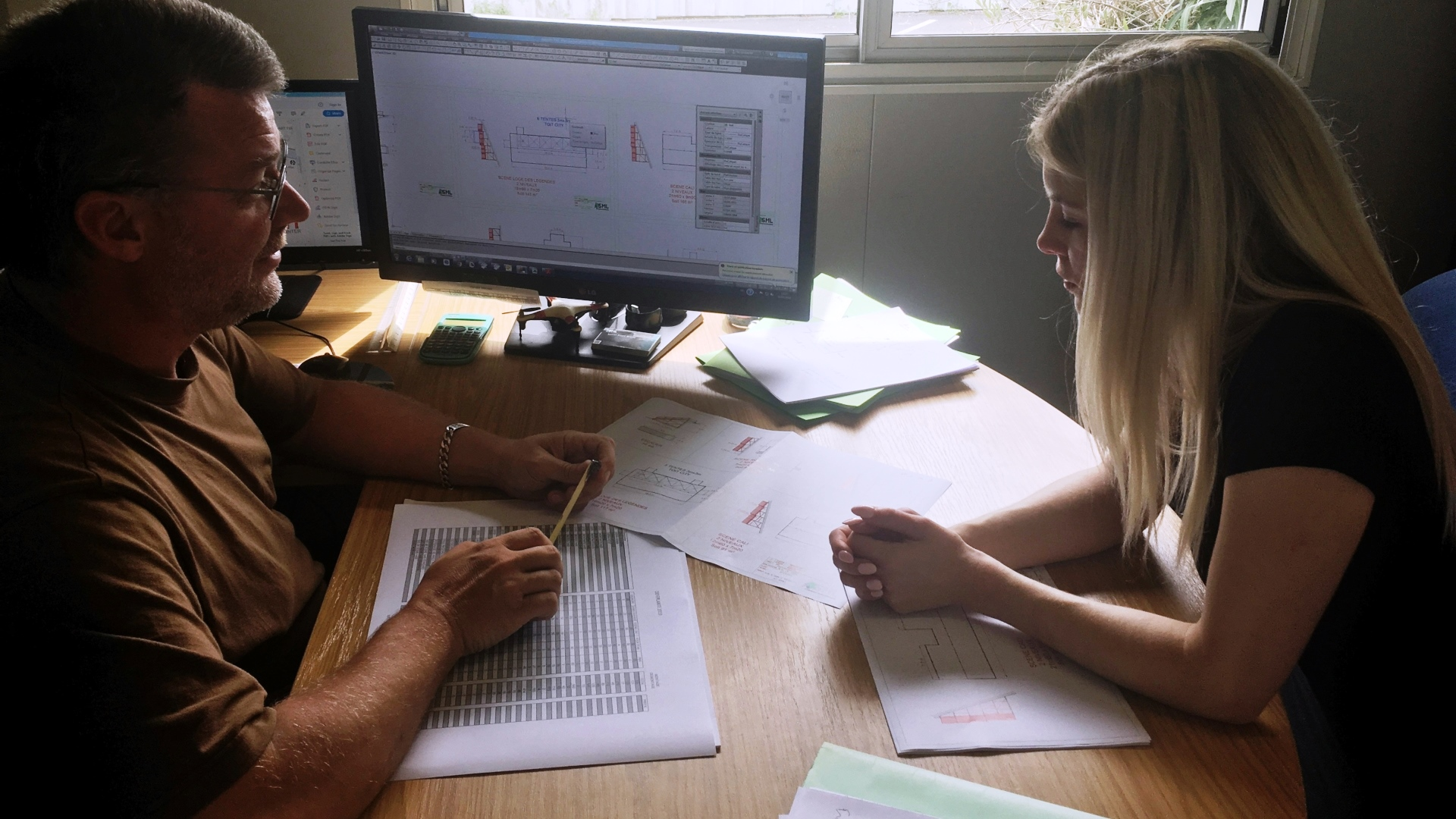 SML bureau d'etude integre plan de fabrication plan 2d etude sur mesure